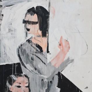 Oma kocht Huhn I, 120 x 110 cm, 2009