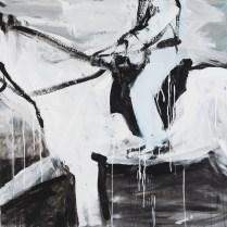 Fluchtpunkt VII, 90 x 90 cm, 2016