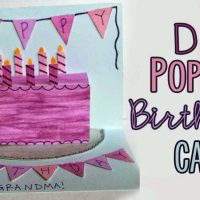 Pop up Birthday Cake Card Tutorial