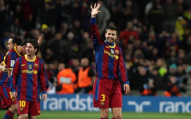 Gerard Pique, the scourge of Real Madrid