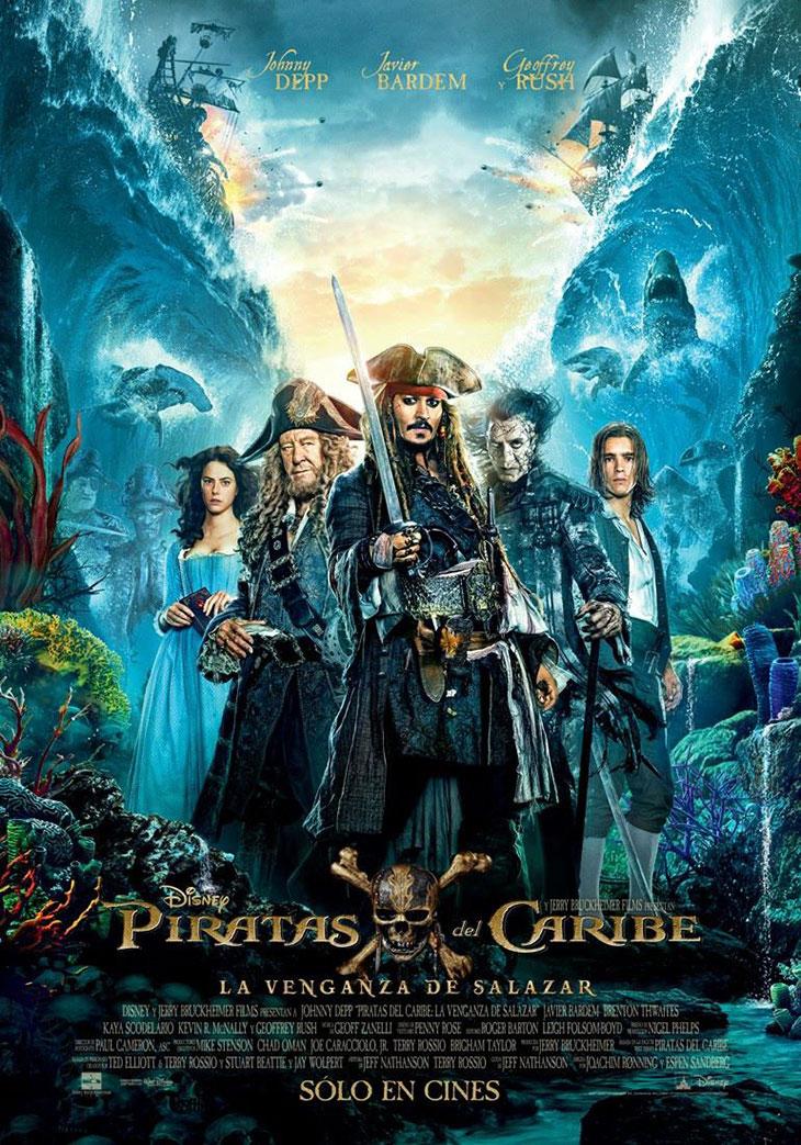 Resultado de imagen para Piratas del Caribe 5 La Venganza De Salazar (2017)