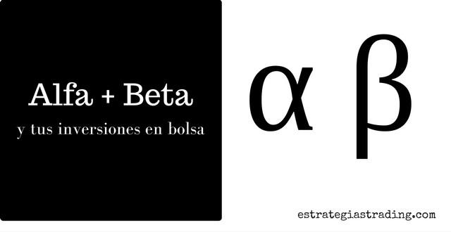 Alfa y Beta de una acción