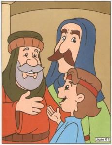 jesus ensina no templo