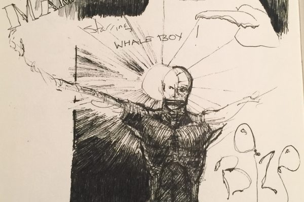 The first sighting of Whale Boy.