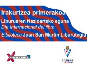 """Udal Liburutegiak irakurketa bultzatzeko """"Irakurtzea, primerakoa!"""" kanpainari ekingo dio Eibar KE-arekin"""