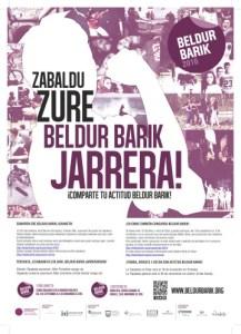 BELDUR  BARIK  LEHIAKETA  MARTXAN  DAGO  EIBARREN!