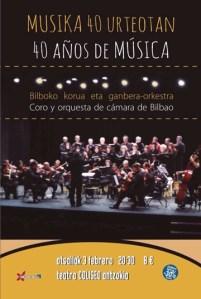 Kontzertua: Bilboko korua eta ganbera-orkestra @ Coliseo antzokian