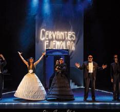 """Antzerki Jardunaldiak: """"Cervantes Ejemplar"""" (Micomicón) @ Coliseoan"""