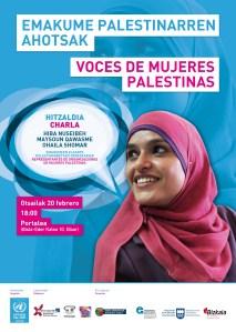 """""""Emakume Palestinarren Ahotsak"""" hitzaldia @ Portaleko areto nagusian"""