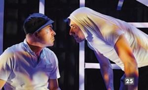 """Antzerki jardunaldiak:  """"Fuera de juego"""" (Borobil Teatroa) @ Coliseoan"""