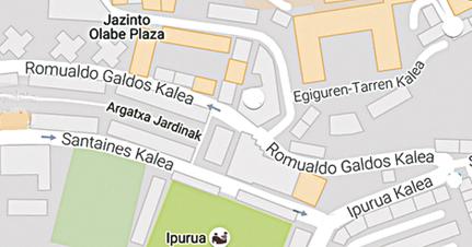 Romualdo Galdos mapa