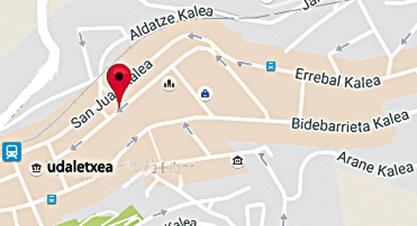 Toribio Etxebarria kalea planoa