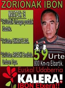 """""""Euskal Udaberria kalera!"""" ekitaldia @ Untzagan"""