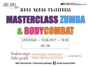 Zumba eta bodycombat masterclass-a @ Untzagan