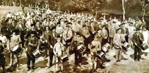 Euskal Herriko txistularien 90. urteurrena Arraten