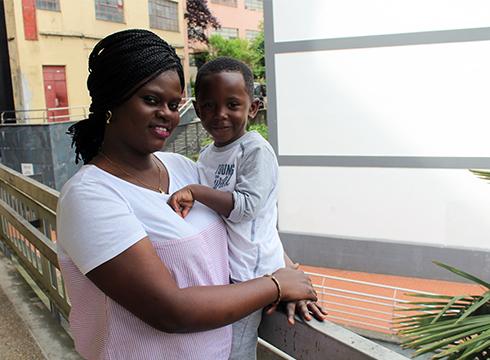 Bineta Mbaye, Sanferminek Eibarrera ekarri zuten senegaldarra