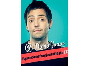 David Guapok #QUENONOSFRUNJANLAFIESTA II ikuskizuna eskainiko du bihar Coliseoan