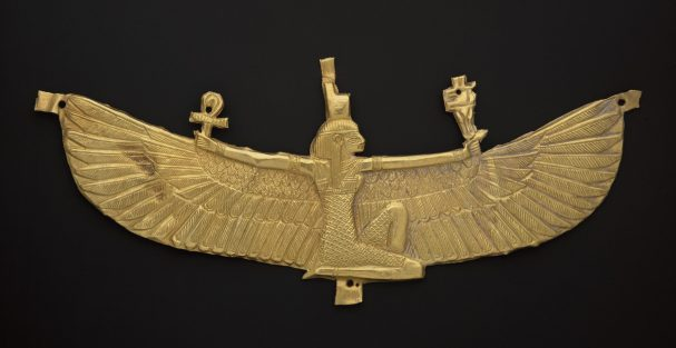 Winged Isis pectoral 538–519 B.C. Gold * Harvard University—Boston Museum of Fine Arts Expedition * Photograph © Museum of Fine Arts, Boston