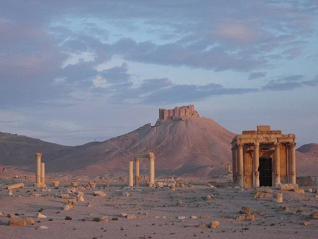 Palmyra, site of ISIS looting and destruction. Photo by djtomic.
