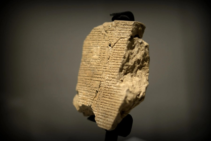 What made Gilgamesh, from The Epic of Gilgamesh, such an epic hero?