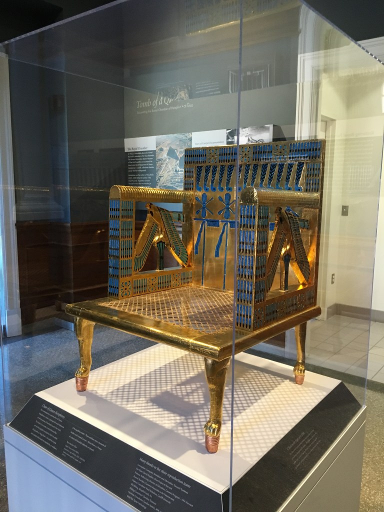 Throne of the Egyptian Queen Hetepheres.