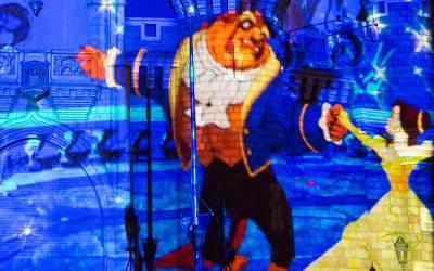 new cinderella castle projection show