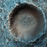 Imagens de Marte da HiRISE impressionam os cientistas na conferência de Geomorfologia