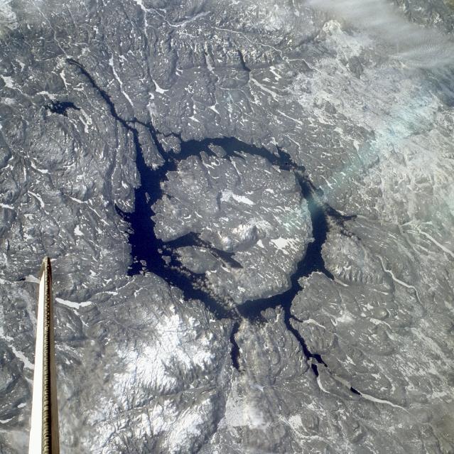 Quais são as maiores crateras de impacto na Terra?