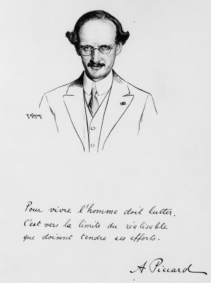 27 de maio de 1931 - Auguste Piccard: um físico insano, mas um aventureiro sensato