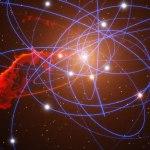 ESO: depois de um longo jejum cósmico o buraco negro supermassivo no centro de nossa galáxia vai se alimentar