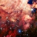 Esta imagem da M17 (Nebulosa de Ômega) é uma das mais nítidas já obtidas a partir de um telescópio terrestre. Crédito: ESO