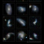 ICRAR: Galáxias gigantes ganham massa ao absorver galáxias menores