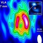 Astrônomos detectam sinais de formação planetária em volta da estrela HD 169142