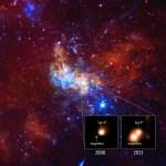 SGR 1745-2900: Atividade intensa de magnetar próximo do buraco negro central supermassivo da Via Láctea revela sua presença