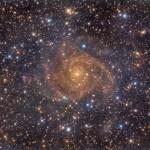 IC 342: a galáxia vizinha escondida revelada por Fabiomassimo Castelluzzo