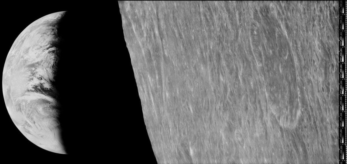 23 de Agosto de 1966 – A primeira foto da Terra a partir de uma espaçonave em órbita da Lua