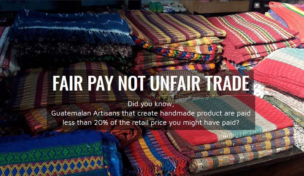 FAIR Pay NOT Un-FAIR TRADE