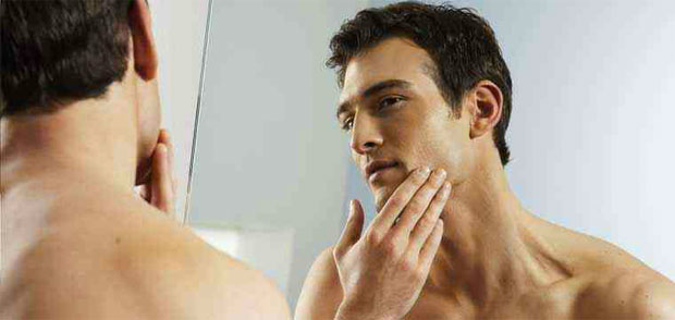 man after shave