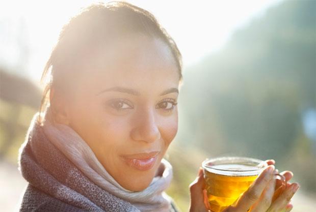 tea in glare