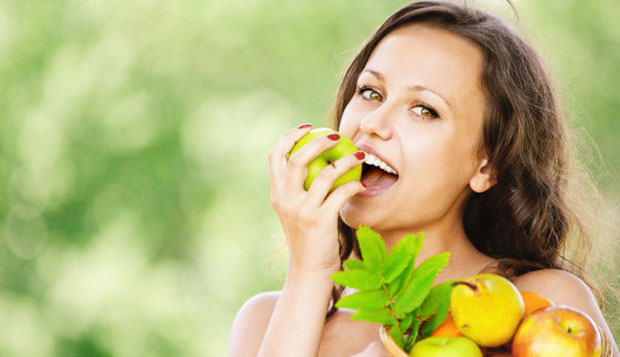 eating nutrients