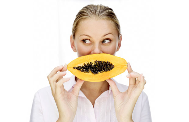 healthy papaya