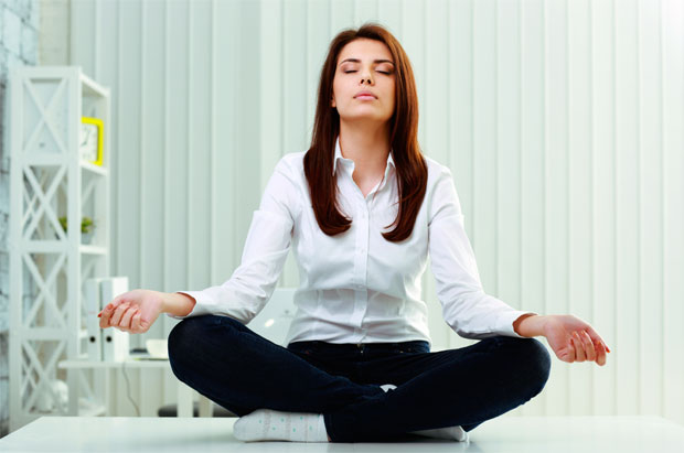 office meditate