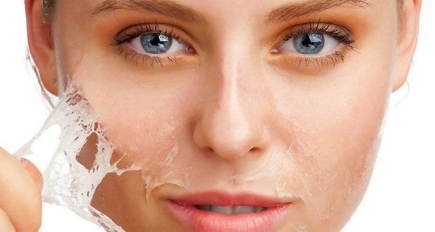 dry skin remove