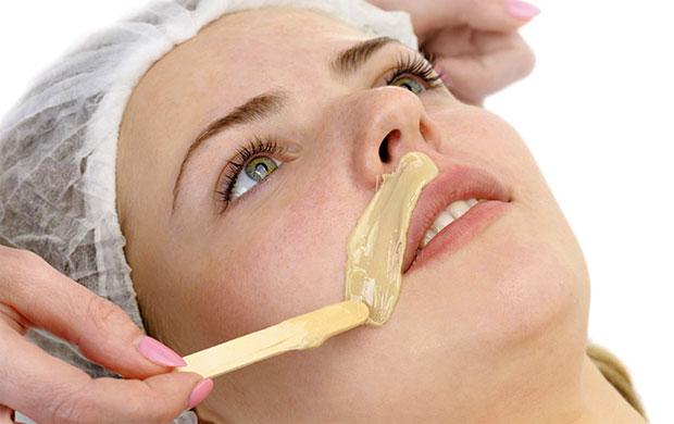 Gram flour upper lips