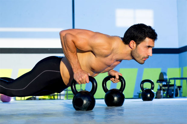 men exercising to stay fit