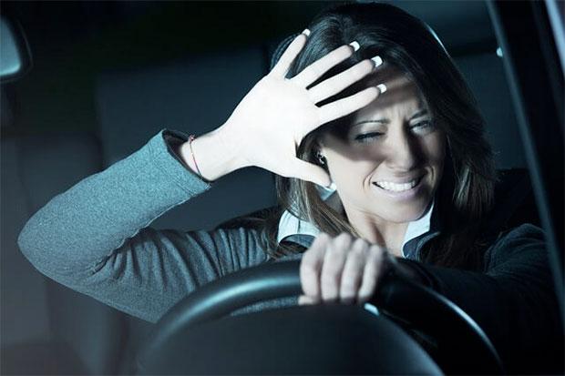 driving glare in night