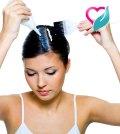 indigo hair