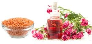 Masoor-Dal-rose-water