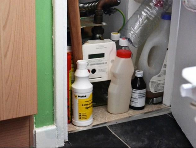 Meter cupboard