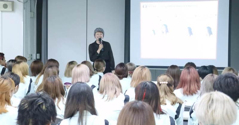 9/14(木)住田美容専門学校にて撮影講座を開催しました。